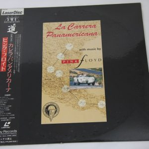 Pink Floyd – La Carrera Panamerica – LaserDisc – JAPAN – OBI – SEALED – PROMO