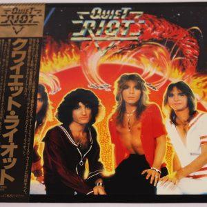 Quiet Riot – Quiet Riot – LP – Japan – OBI
