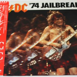 AC/DC – '74 Jailbreak – LP – JAPAN – OBI