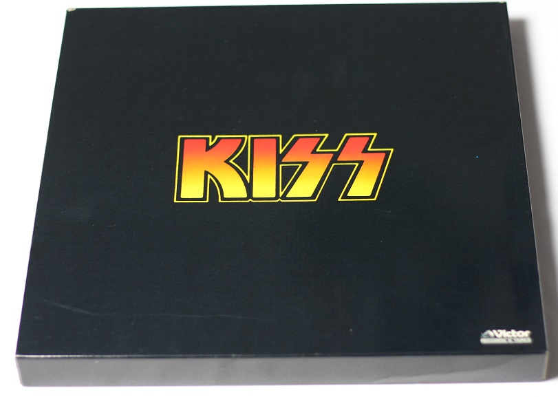 Kiss Solo Albums Box Japan Obi Complete Promo