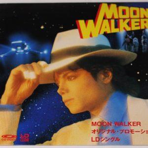 Michael Jackson – Moonwalker – LaserDisc – JAPAN – PROMO