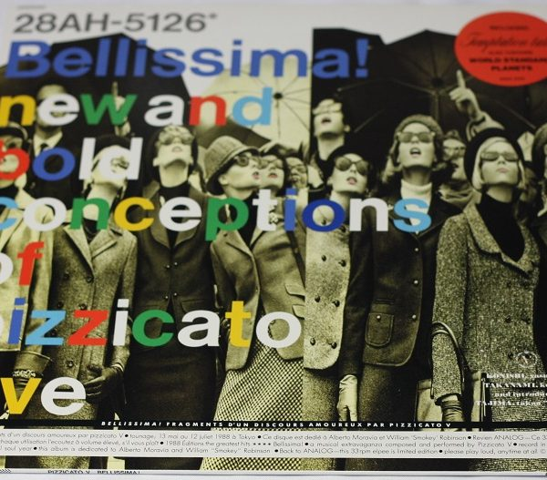 Pizzicato Five – Bellissima! – LP – Japan – Sticker