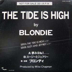 Blondie – The tide is high – 12″ – Japan – PROMO