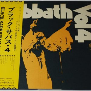 Black Sabbath – Vol 4. – LP – Japan – OBI – POSTER