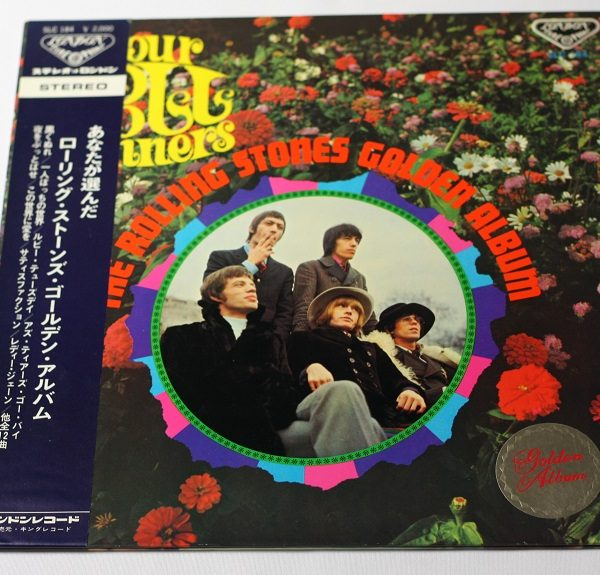 The Rolling Stones – Your Poll Winners – LP – JAPAN – OBI