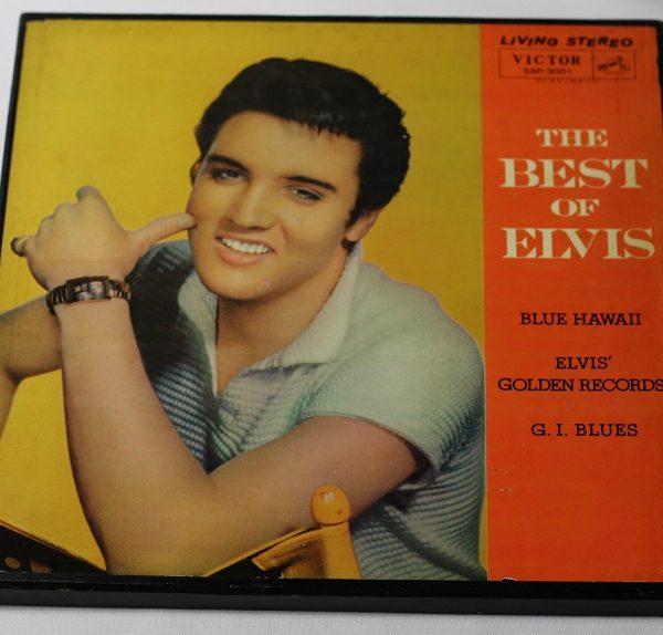 Elvis Presley – The best of Elvis – 3LP – JAPAN – BOX